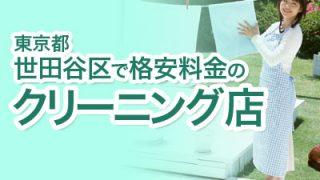 世田谷区の格安料金クリーニング店