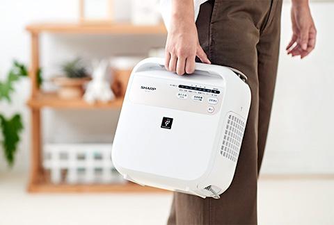 シャープ UD-CF1 布団乾燥機の電気代と性能