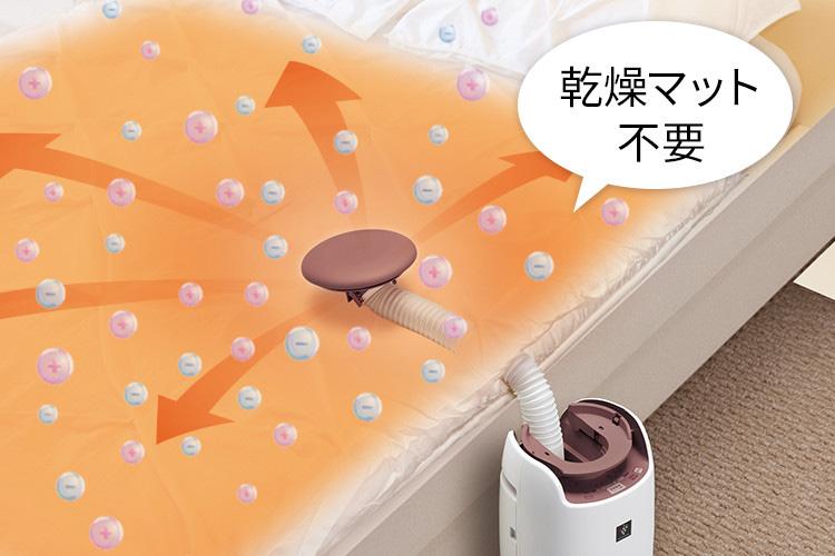 シャープ UD-BF1 布団乾燥機の電気代と性能
